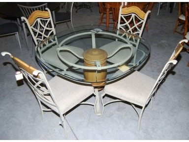 Slone Clearance Center Glass top table 117
