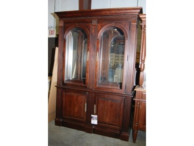 Slone Clearance Center Solid maple 2 piece china cabinet 30