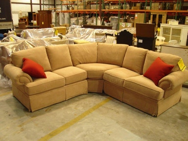 Slone Clearance Center Bassett 3 pc Sectional 349