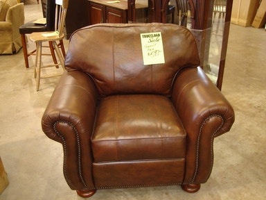 Slone Clearance Center Thomasville Leather Chair 361
