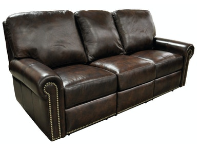 Slone Clearance Center Divani All Leather Sofa, Made in the USA. Divani