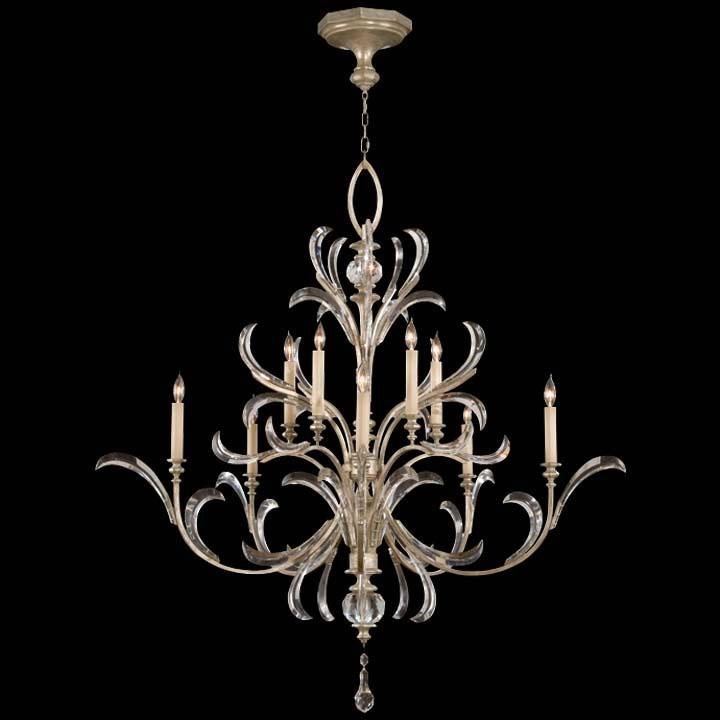Fine Art Lamp Lamps And Lighting Beveled Arcs 701340ST   Noel Furniture    Houston, TX