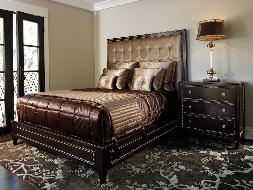 Marge Carson Bedroom Furniture Marge Carson Bedroom Design Folio Contemporary Bed Dsf11 1 Noel
