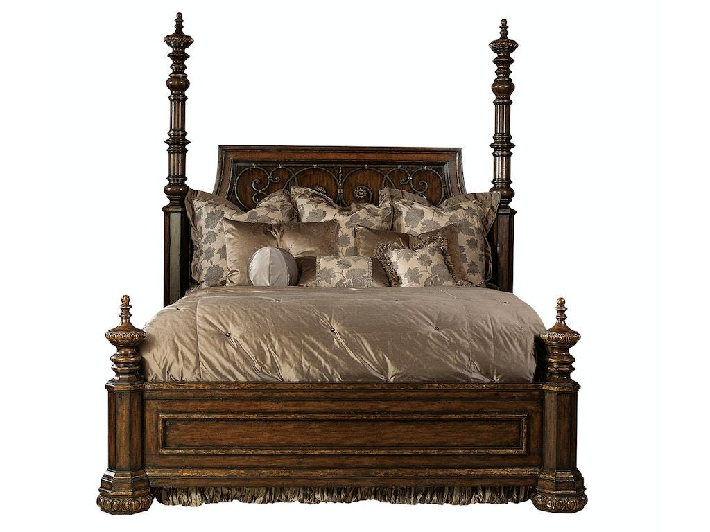 Seville Bedroom Furniture Marge Carson Bedroom Seville Low Poster Bed Sev91 1 Noel