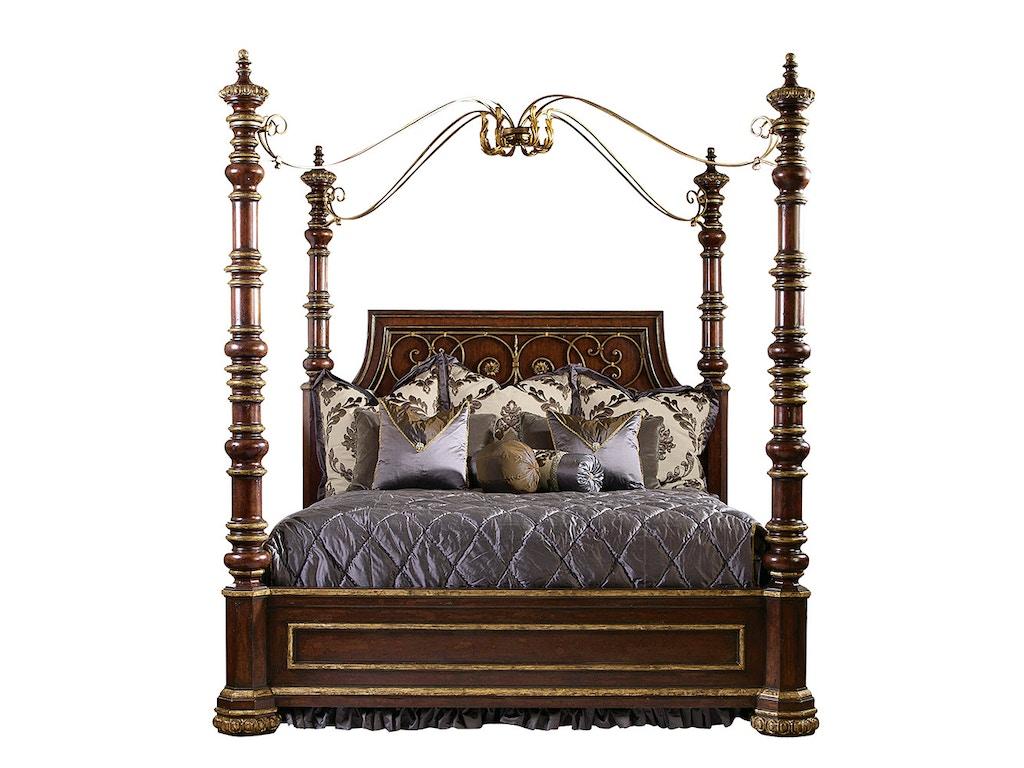 Seville Bedroom Furniture Marge Carson Bedroom Seville Poster Bed Sev91 5 Noel Furniture
