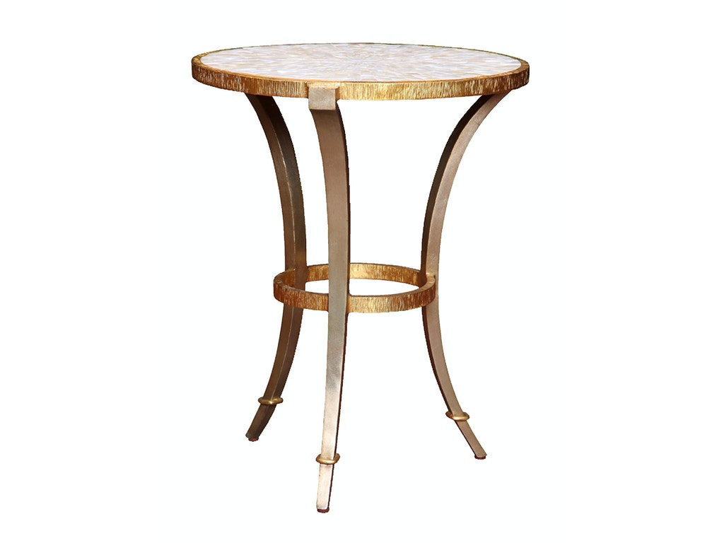 Round Chairside Table Marge Carson Living Room Sonoma Round Chair Side Table Sna30 1