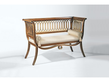 Decorative Crafts Wood Settee 1/1/6760