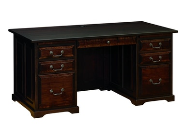 "Nisley Cabinet 50"" Executive Desk 7050"