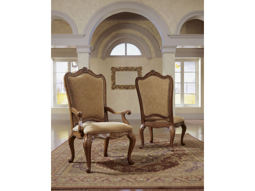 Universal Dining Room Upholstered Arm Chair 631217019 Hansens Furniture Modesto And Winton