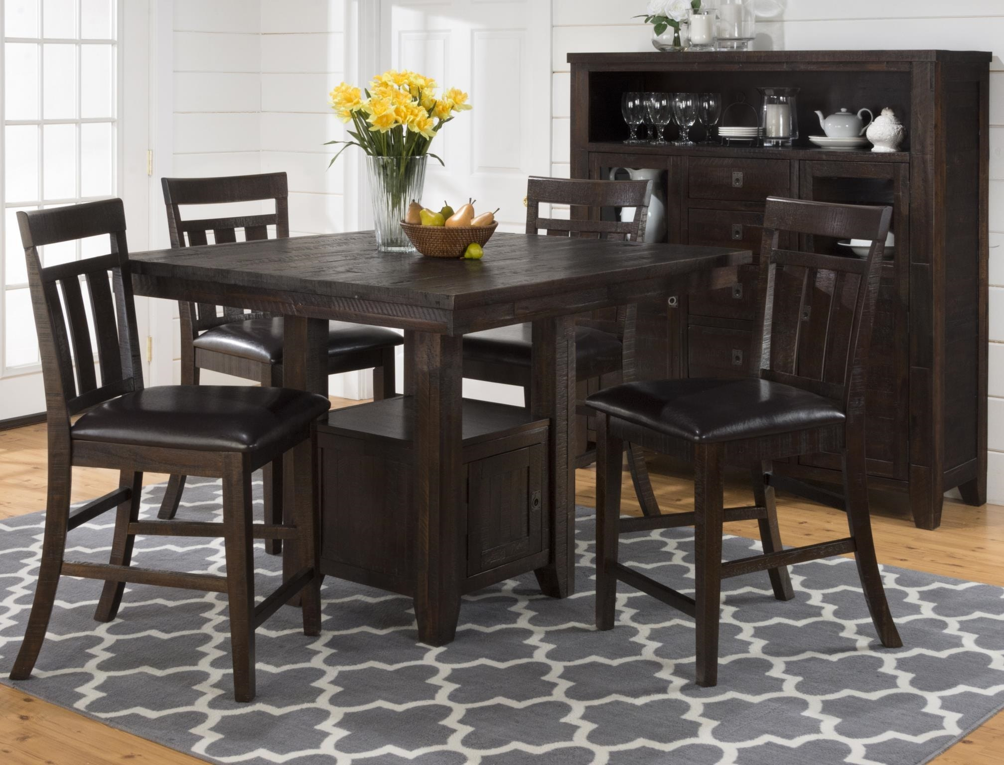 Jofran Counter Height Table U0026 Chairs 603029