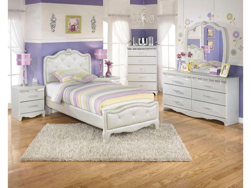 Signature Design Youth Bedroom Suite Girls Hansens Furniture Modesto And Winton Ca Showrooms