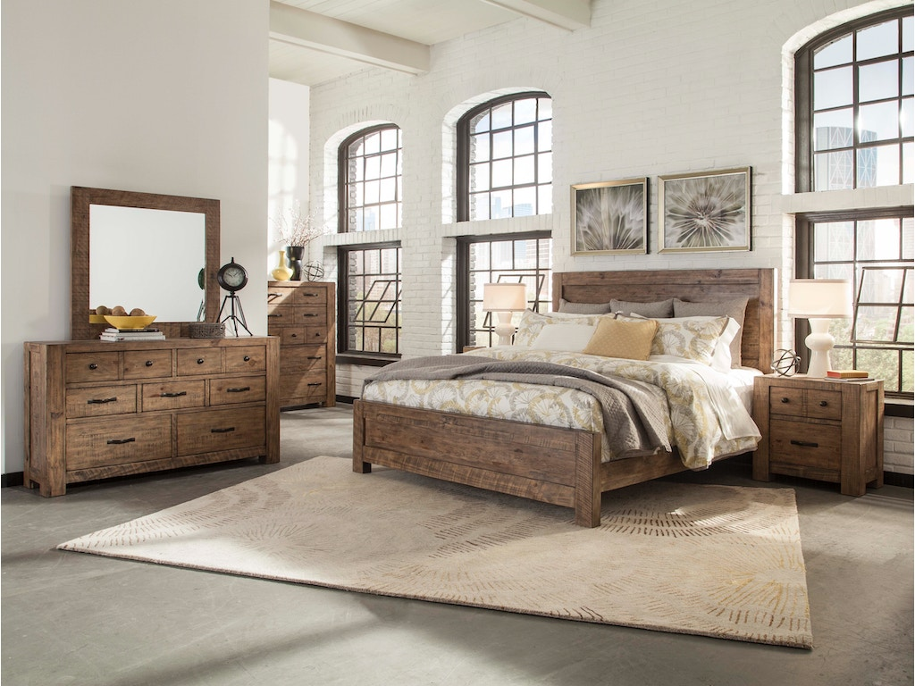 Magnussen Home Bedroom Set Rustic Traditional Hansens Furniture Modesto And Winton Ca Showrooms