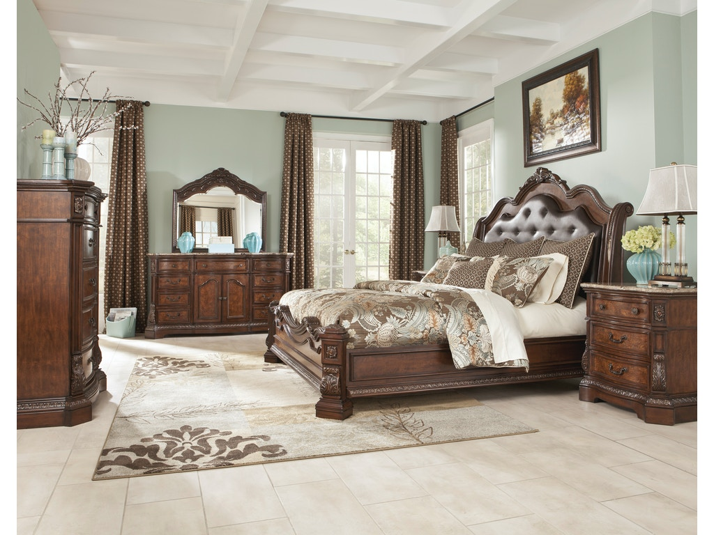 Hansen 39 S Fine Furnishings Master Bedroom Suites Dark Cherry Hansens Furniture Modesto And