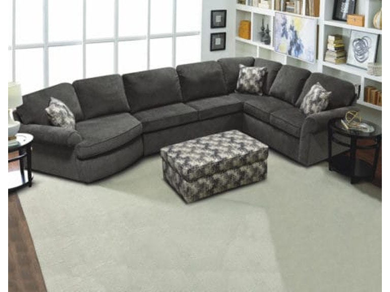 England Living Room Sectional with cuddler. Cuddler Sectional ...