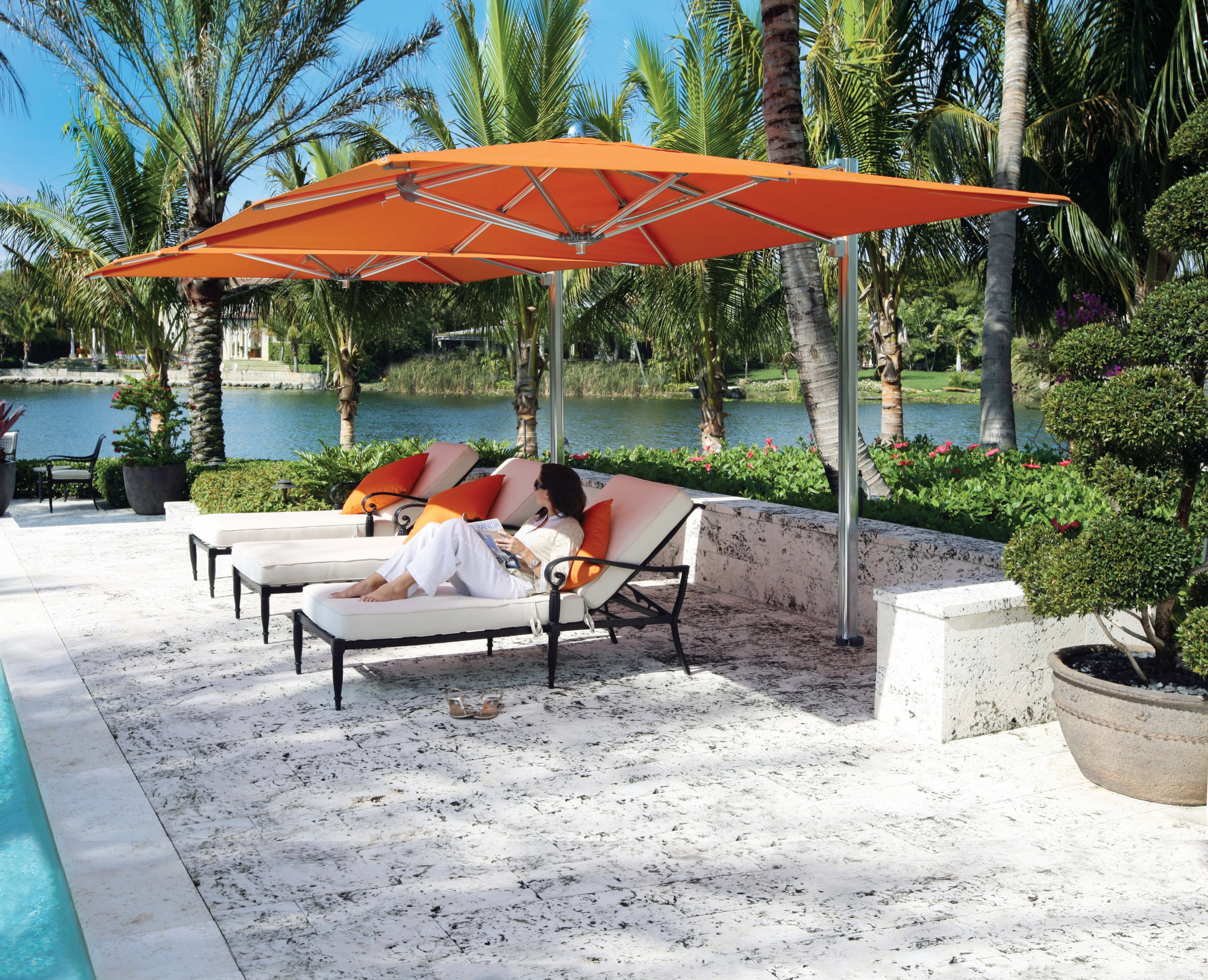 Outdoor Furniture Canopy Fabric Umbrella 124074 & Outdoor Furniture Outdoor/Patio Canopy Fabric Umbrella 124074 ...