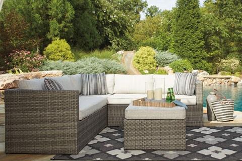 Outdoor Furniture OutdoorPatio Sectional Peckham ParkHansens