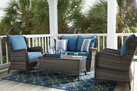 outdoor furniture loveseat glider u0026 chairs abbots court