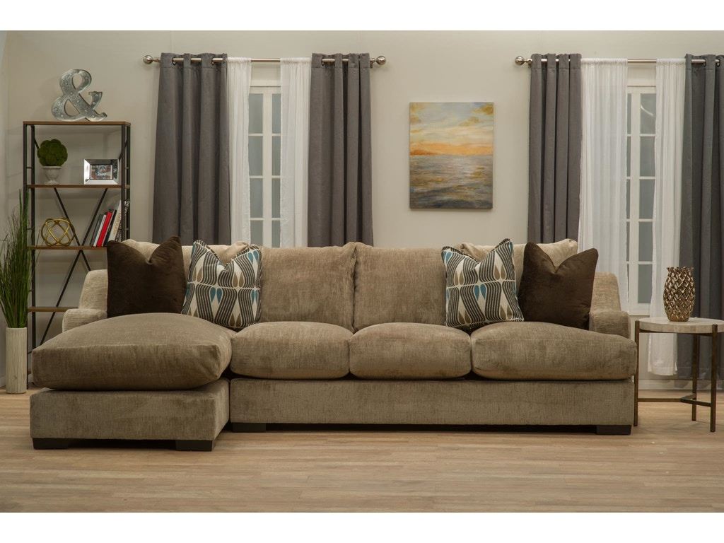 Living Room Chaise Michael Nicholas Living Room Sofa And Chaise Stacia Hansens