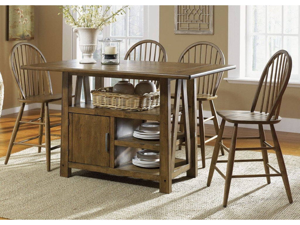 liberty furniture dining room table center island 139