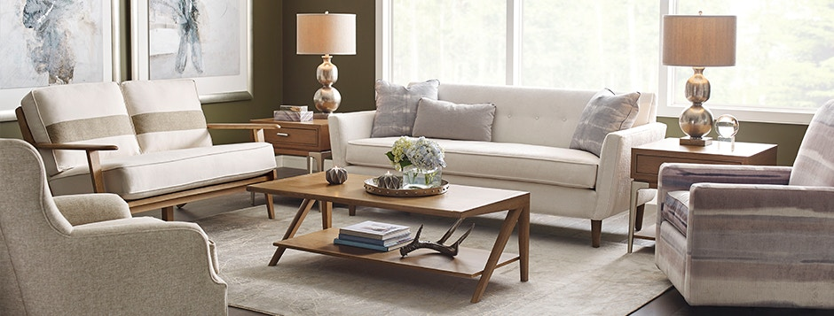 Beautiful Living Room Accent Furniture Like Coffee Tables, Ottomans And  Side Tables All Available As