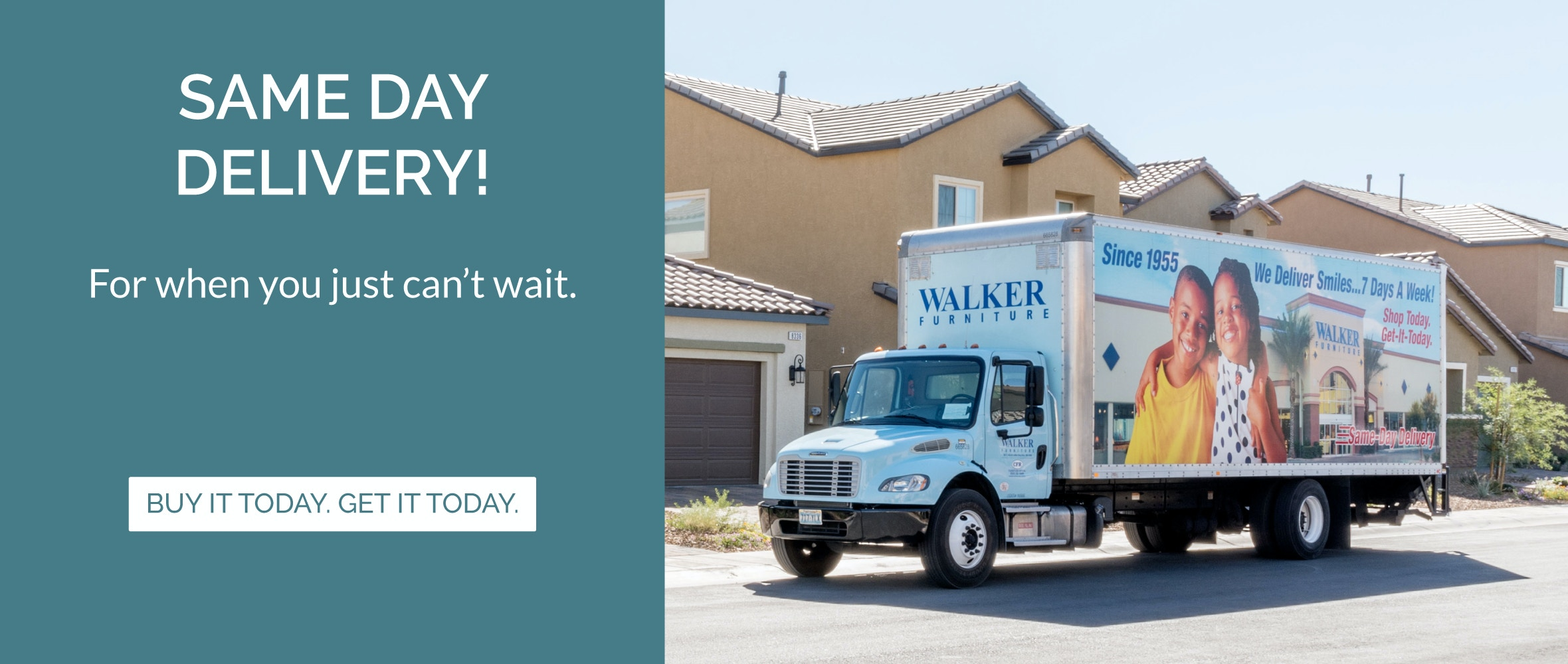 Same Day Delivery From Walker Furniture