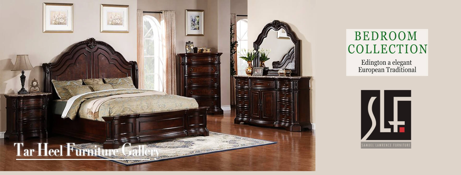 Bedroom - Tar Heel Furniture Gallery - Fayetteville, NC