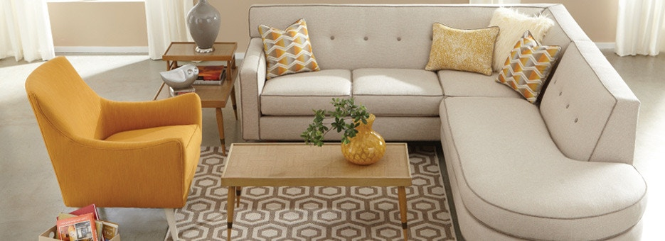 Living Room - Hamilton Sofa & Leather Gallery - Chantilly, Falls ...
