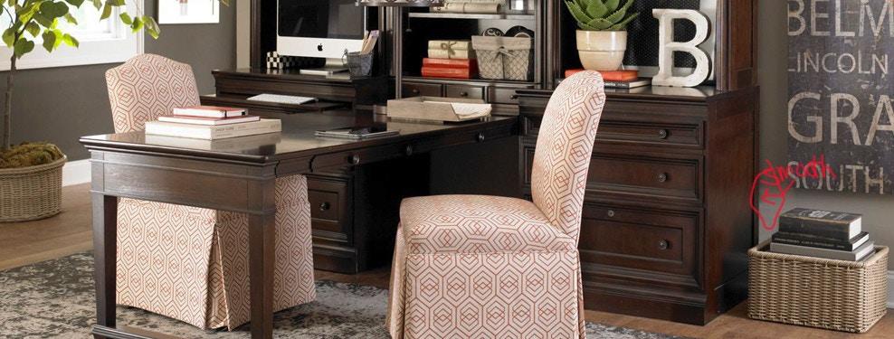 Designer home office furniture Dark Brown Bacons Furniture Bacons Furniture Design Home Office Furniture