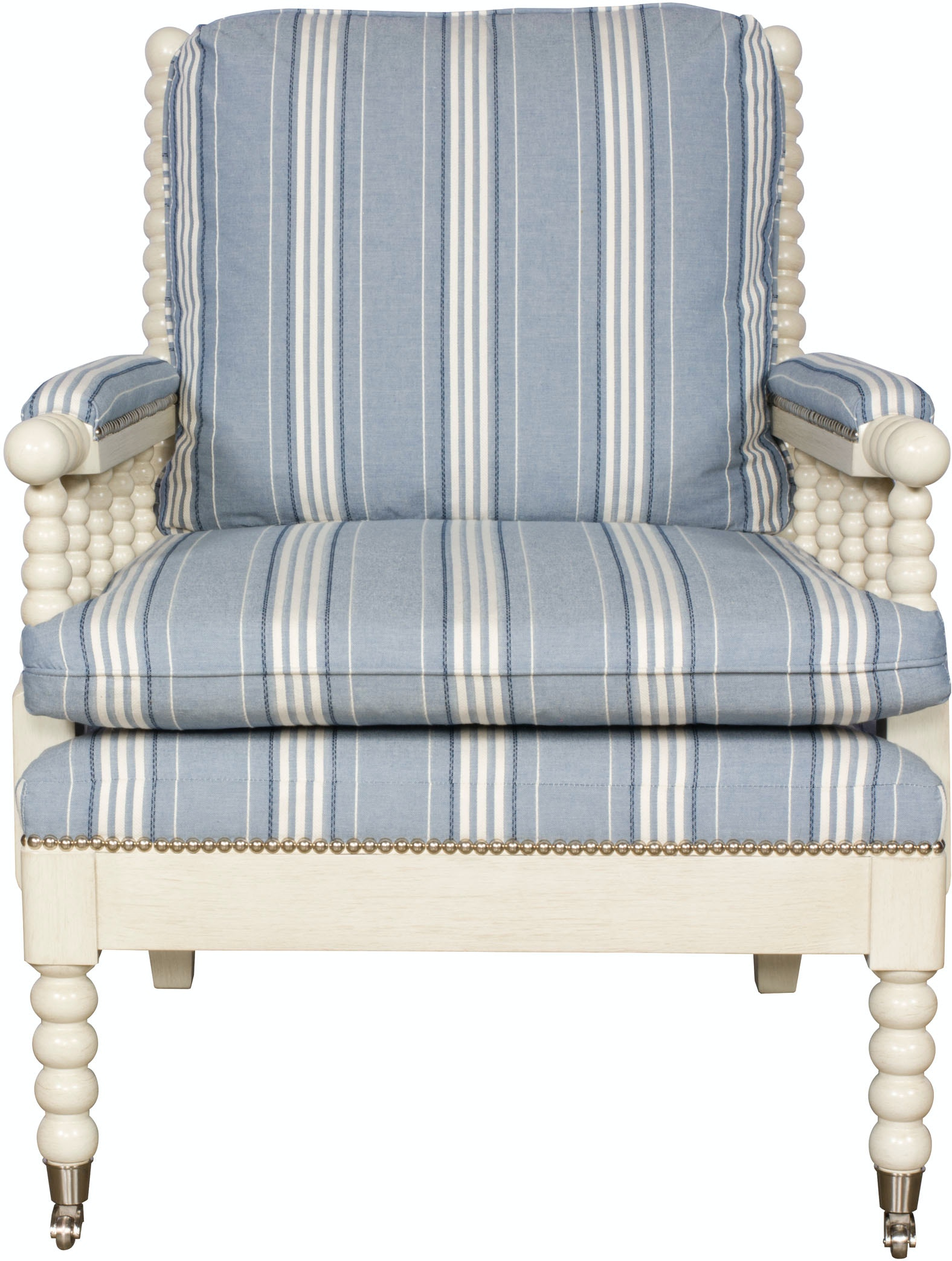 Vanguard Living Room Bell Spool Chair 4502 CH Whitley Furniture