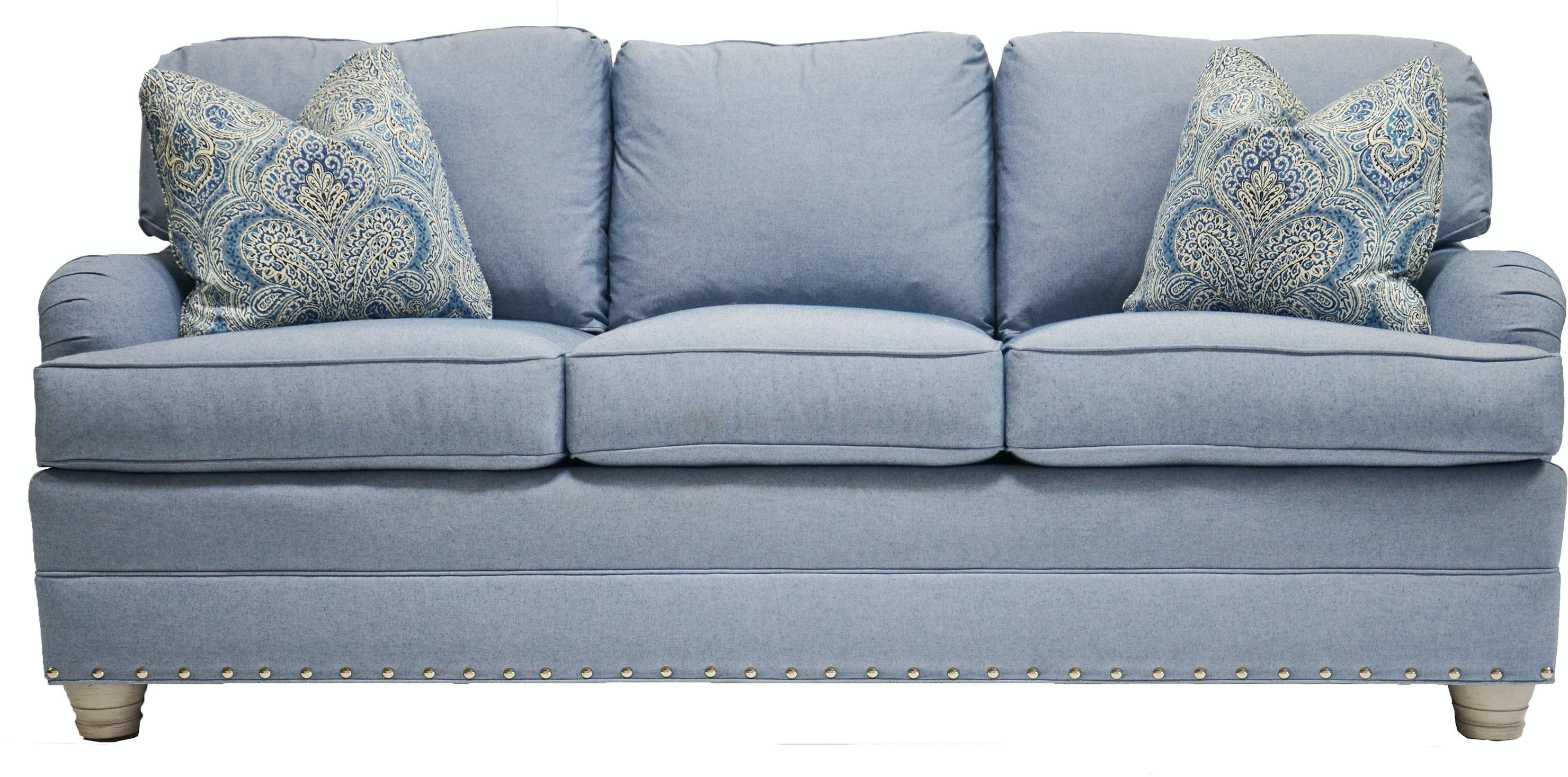 Vanguard Living Room East Lake Sleep Sofa 603 SS Whitley