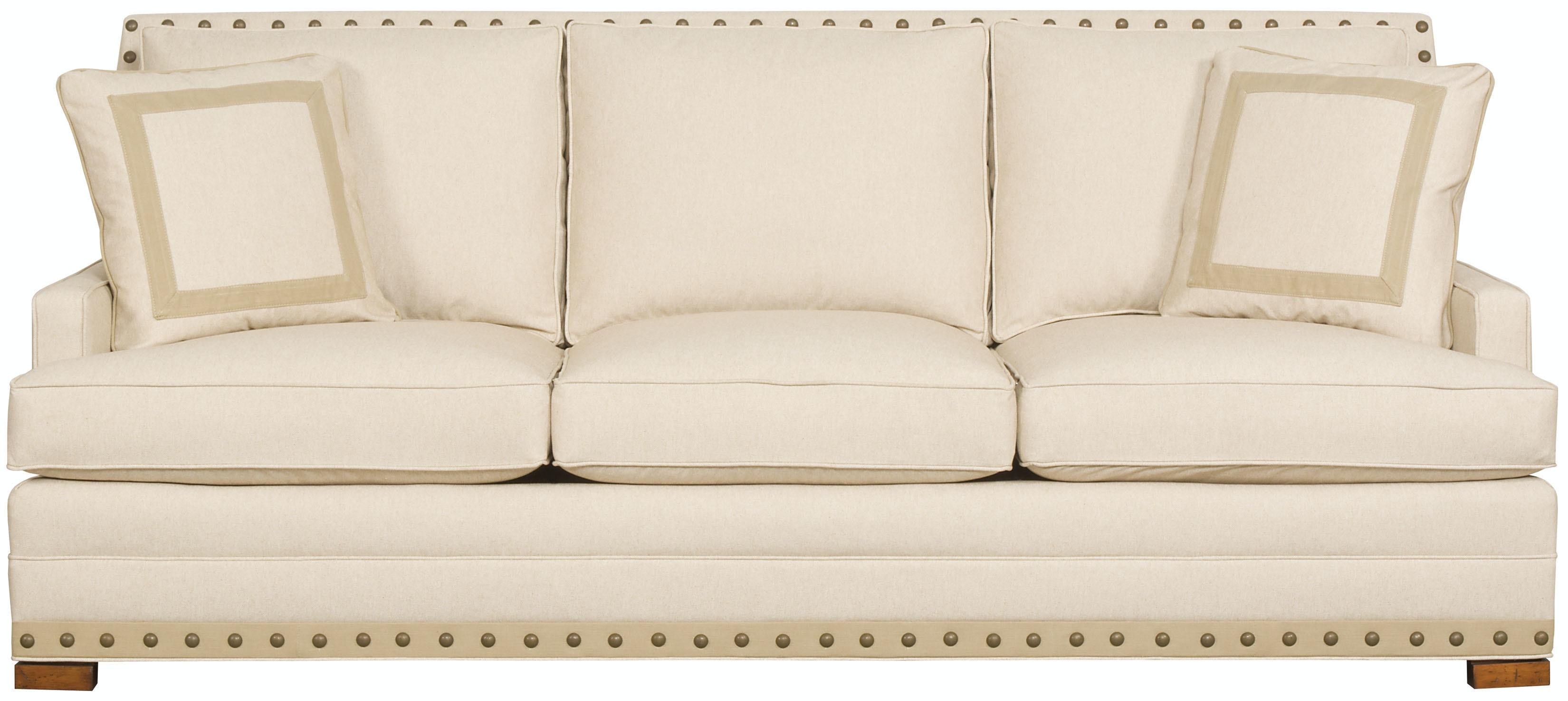 Vanguard Riverside Sofa 604 S - Hamilton sofa and Leather Gallery