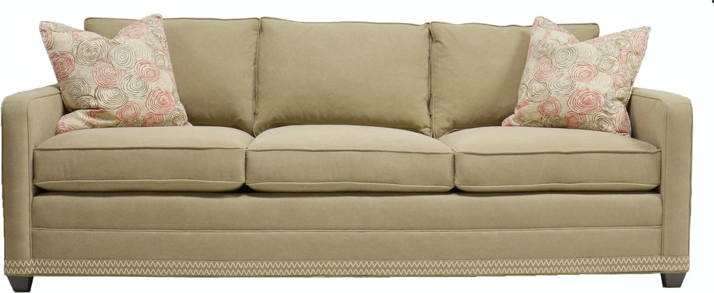 Vanguard Furniture Living Room Stanton Sofa 647-S - Louis ...