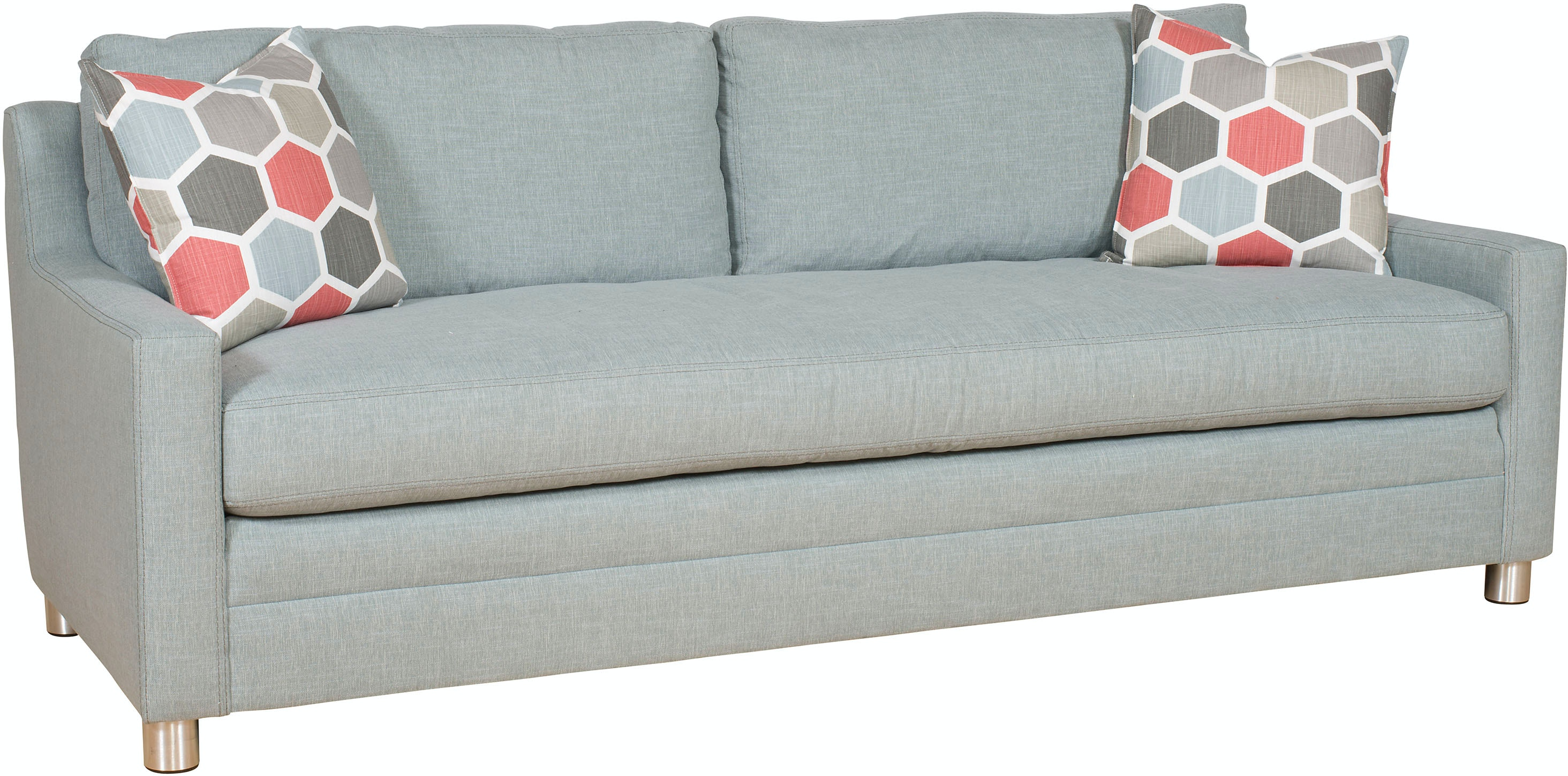 Vanguard Living Room Fairgrove Sofa 652 1s Oasis Rug Home  ~ Sofa Bed Jacksonville Fl