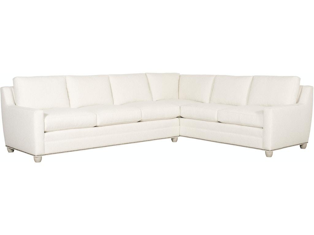 Vanguard living room fairgrove left right arm sofa 652 las for Sofa design for hall