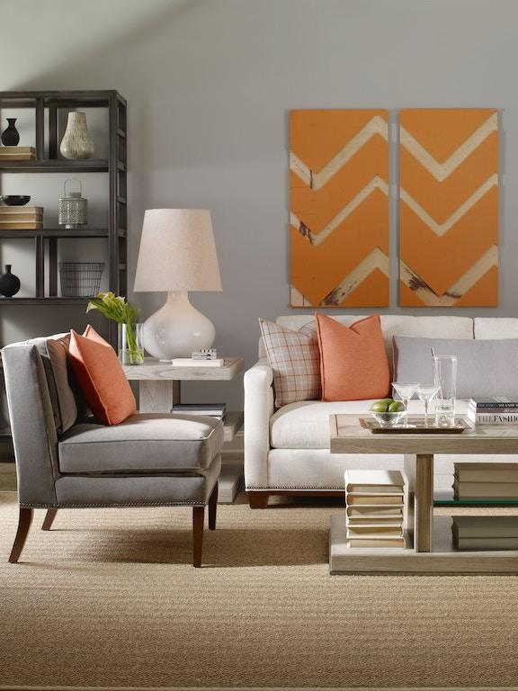 Vanguard Living Room Furniture: Vanguard #W173-CH Jenkins Button-Back Chair
