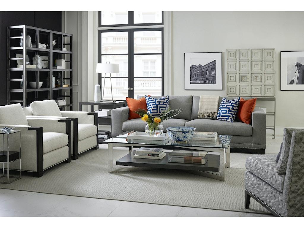 Vanguard living room michael weiss abingdon two seat sofa for Michael apartment sofa