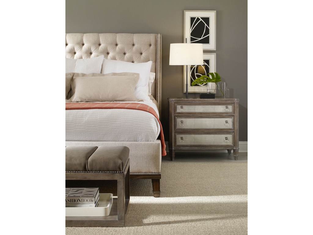 Vanguard bedroom kavannaugh three drawer chest w600l for Bedroom furniture raleigh nc