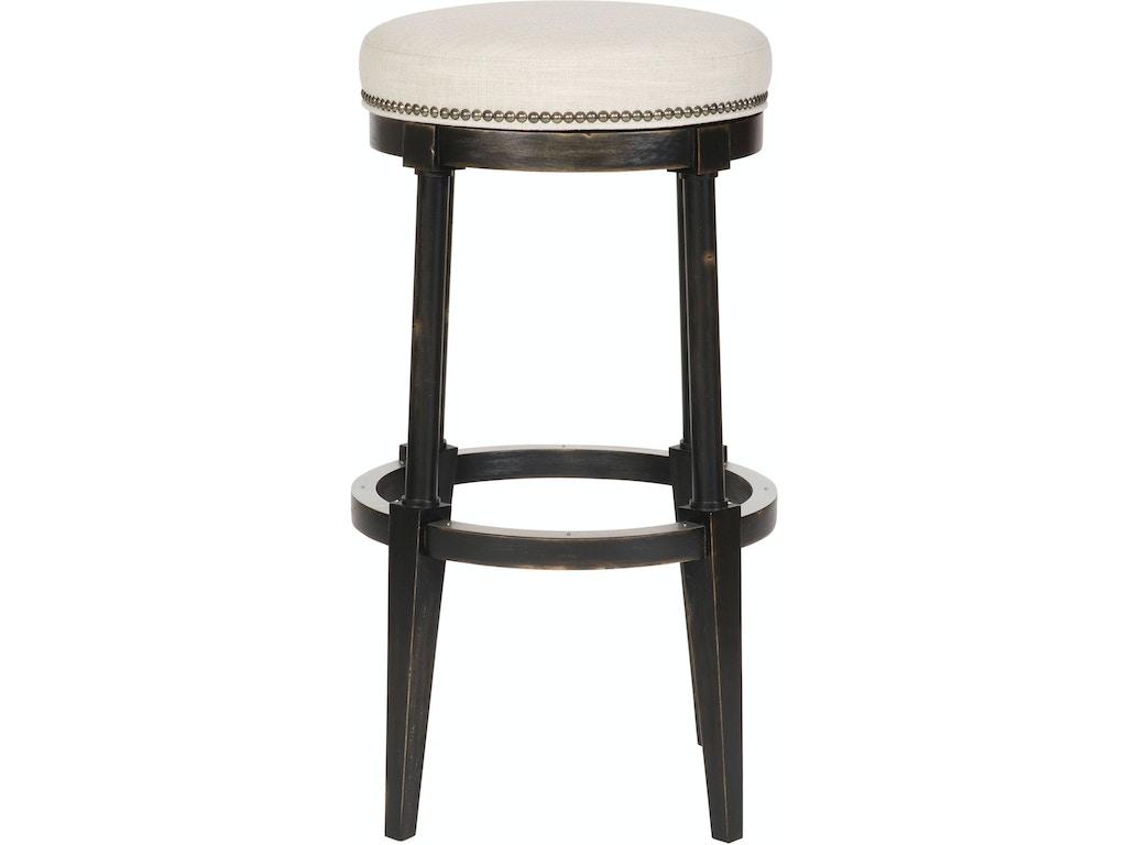Pleasing Hickory Chair Dining Room Newbury Swivel Backless Counter Inzonedesignstudio Interior Chair Design Inzonedesignstudiocom