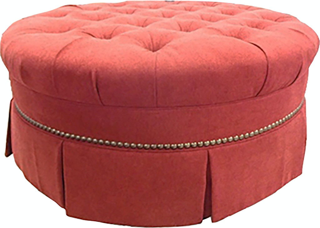 Outstanding Vanguard V36D Living Room Willis Round Ottoman Ibusinesslaw Wood Chair Design Ideas Ibusinesslaworg