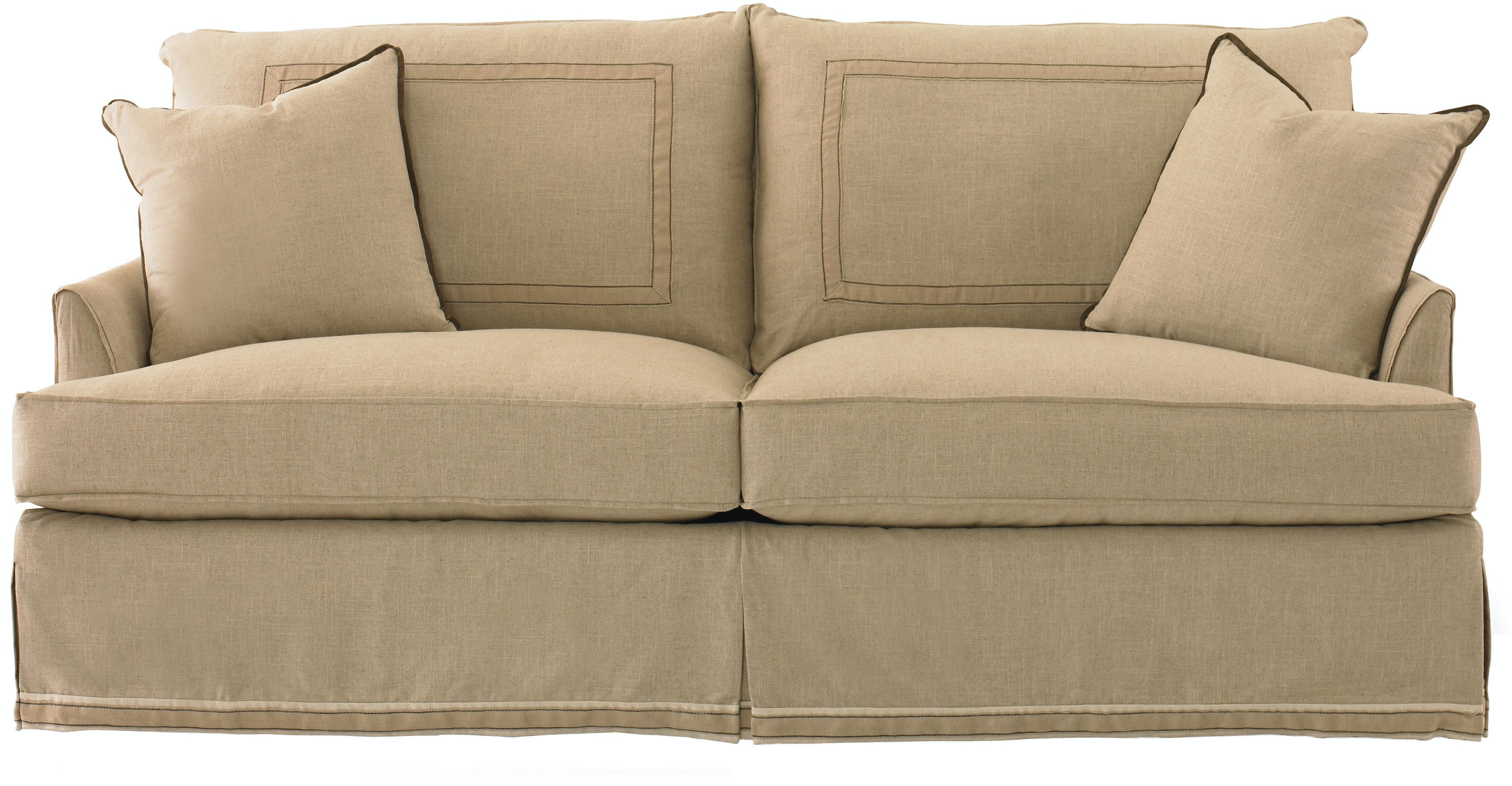 baker furniture sofa baker living room back sofa 830 76 studio 882 1450
