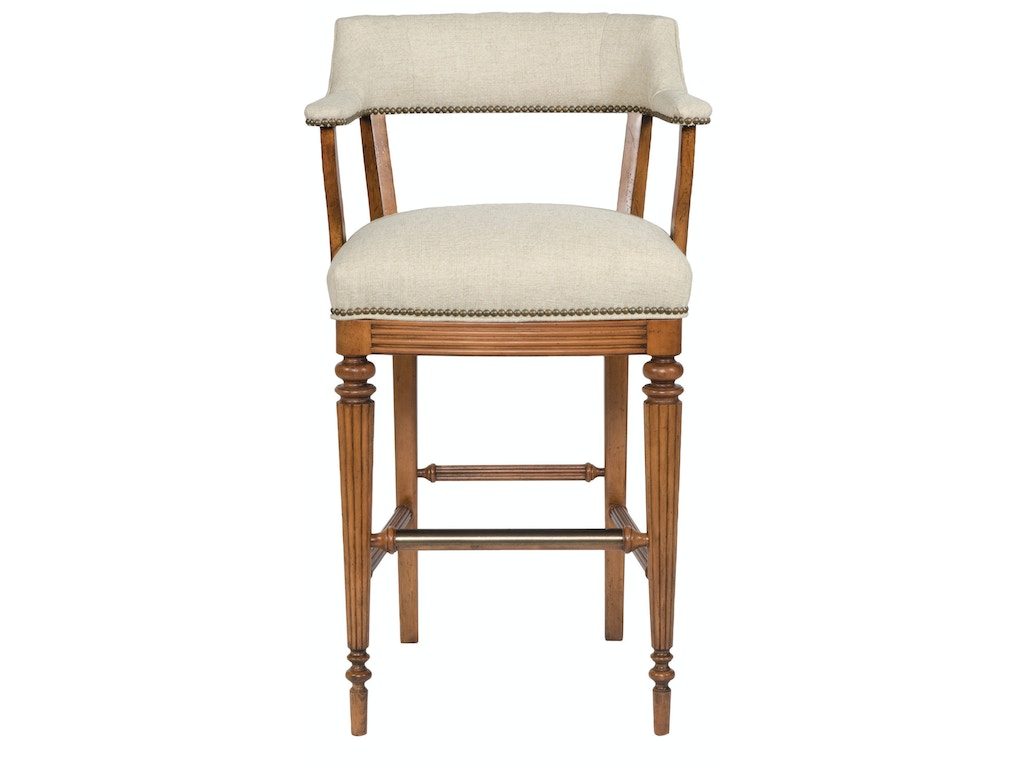 Vanguard bar and game room captains bar stool v64 bs whitley furniture galleries raleigh nc Home bar furniture raleigh nc