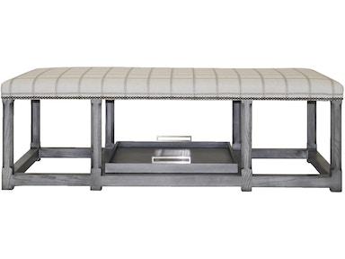 Vanguard Furniture Living Room Tia Cocktail Ottoman V927c