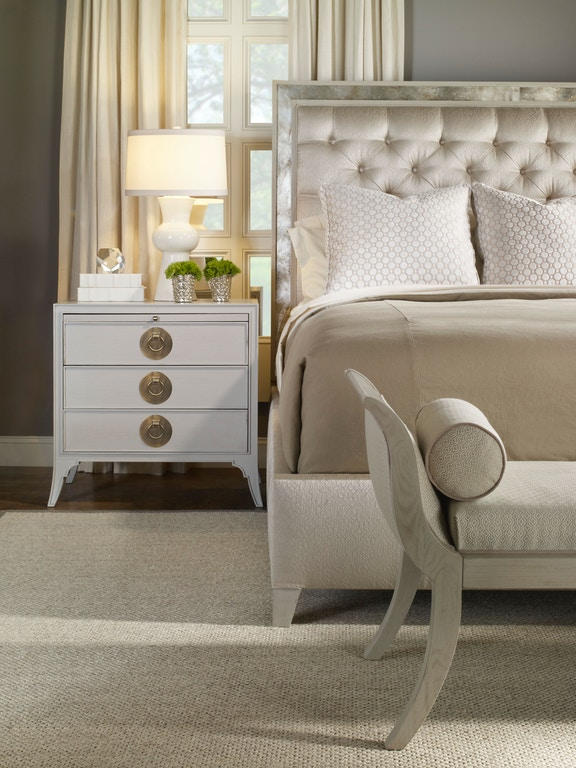 Vanguard Living Room Furniture: Vanguard Living Room Graylyn Bench V102-BE