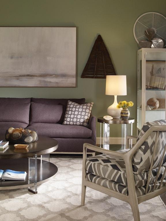 Vanguard Living Room Furniture: Vanguard Living Room Dell Rey Round Cocktail Table P402C