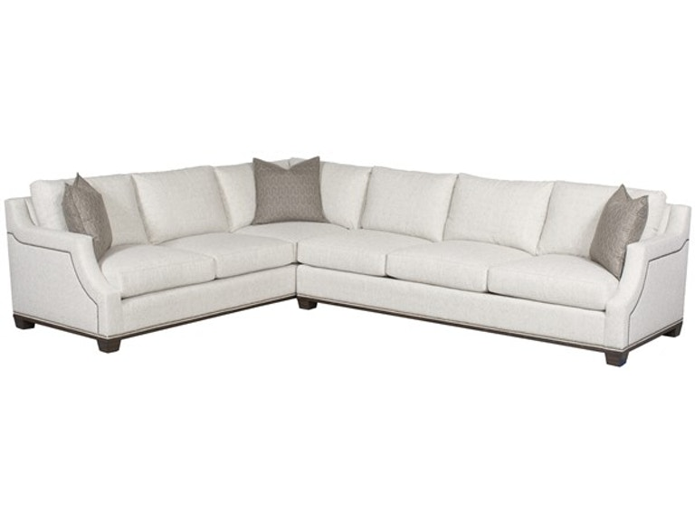 Vanguard Furniture Living Room Michael Weiss Abingdon Left Right Arm Corner Sofa W10lcso At Louis