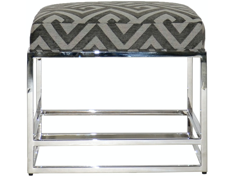 Vanguard Living Room Larkin Metal Frame Bench W382P-BE - Whitley ...