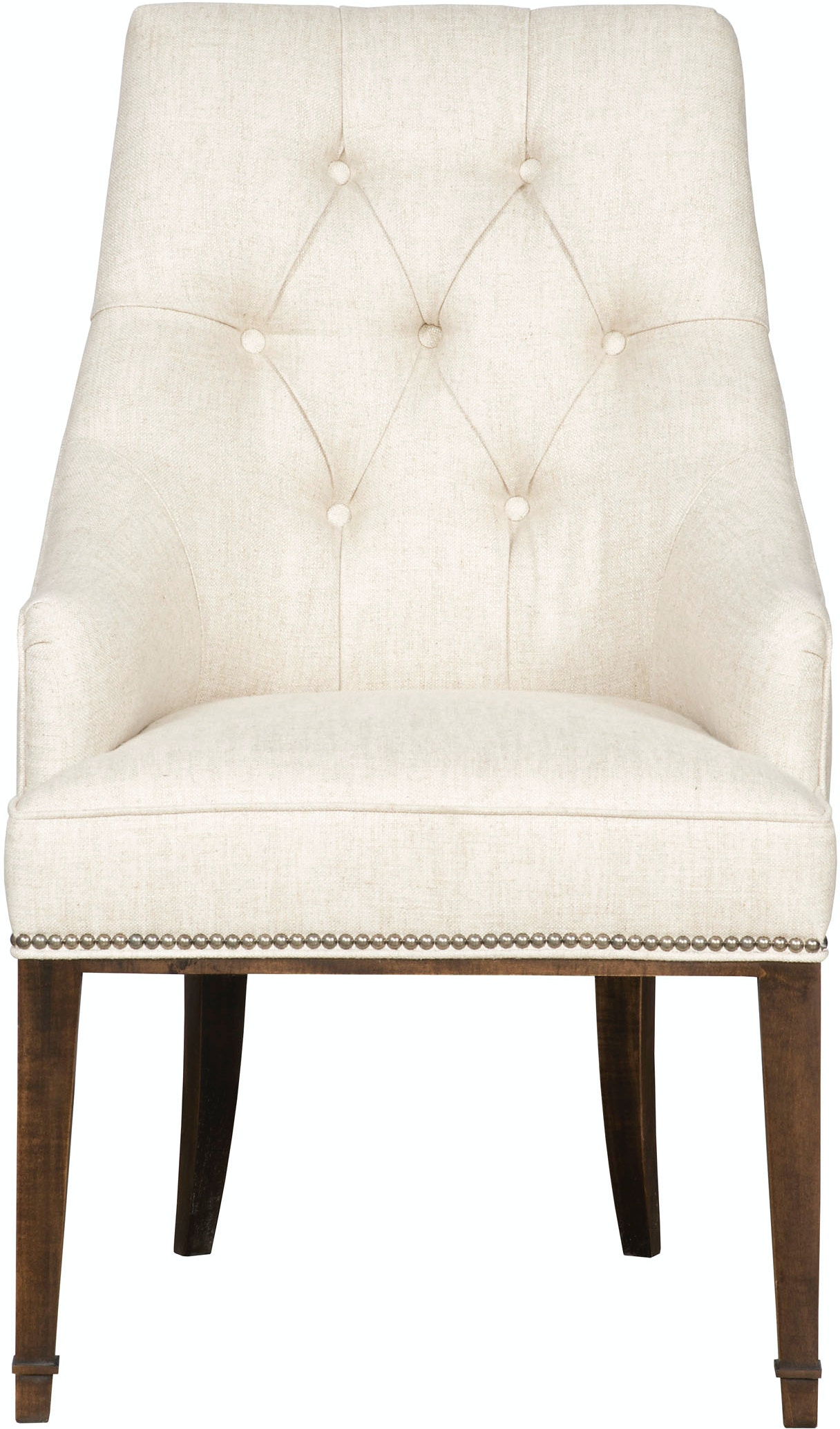 Vanguard Dining Room Brinley Tufted Arm Chair W780A Whitley