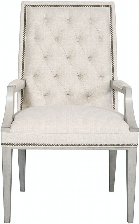Michael Weiss Vanguard Furniture: Vanguard Dining Room Hanover Button-Back Arm Chair W787A