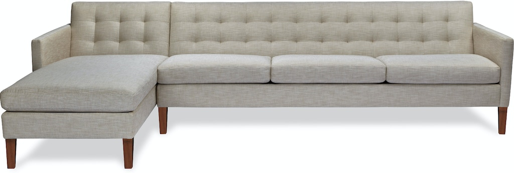 American Leather Living Room Ainsley Sectional Stowers