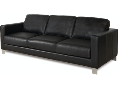 three cushion sofa - American Leather Sofa